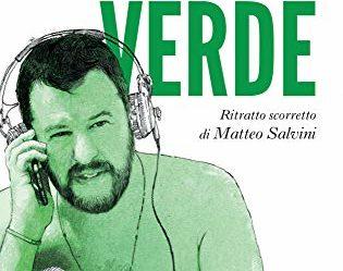 Copertina del libro Il cazzaro verde di Andrea Scanzi