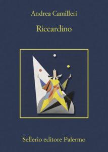 Copertina del libro Riccardino di Andrea Camilleri